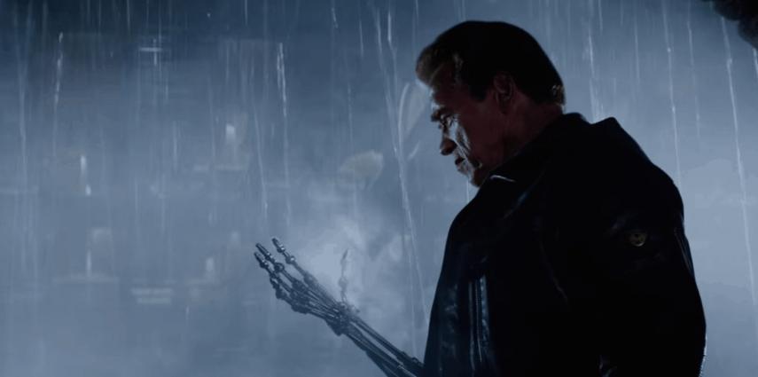 Arnold Schwarzenegger in Terminator Genisys - Paramount